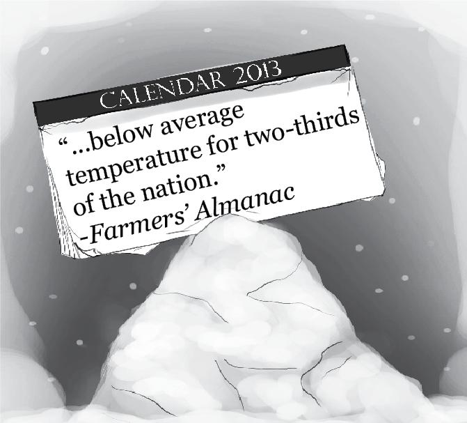 Farmers' Almanac Predicts Harsh Winter