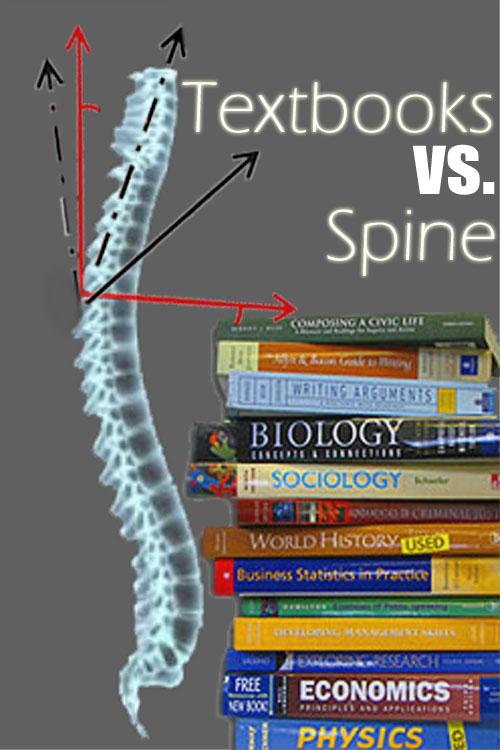 Textbooks Break Backs