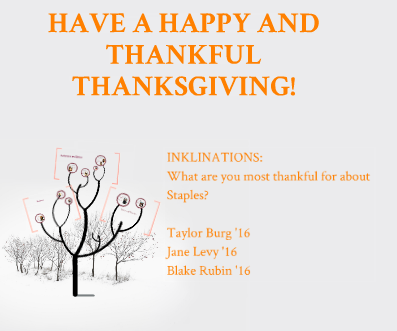 Thanksgiving Inklinations