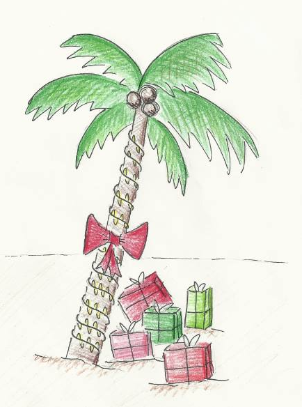 Many students enjoy opening presents in the warmth of their homes, whereas others like to spend their winter break taking a break from winter