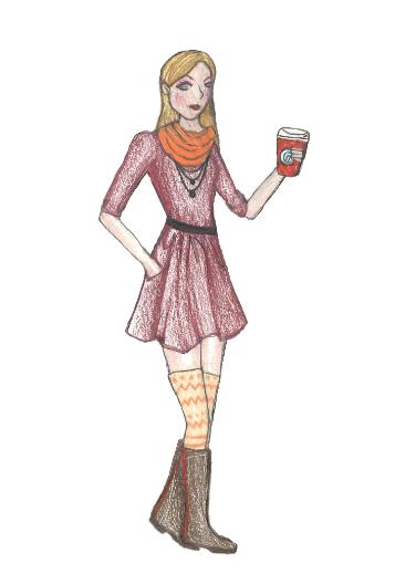 Winter fashion warms up