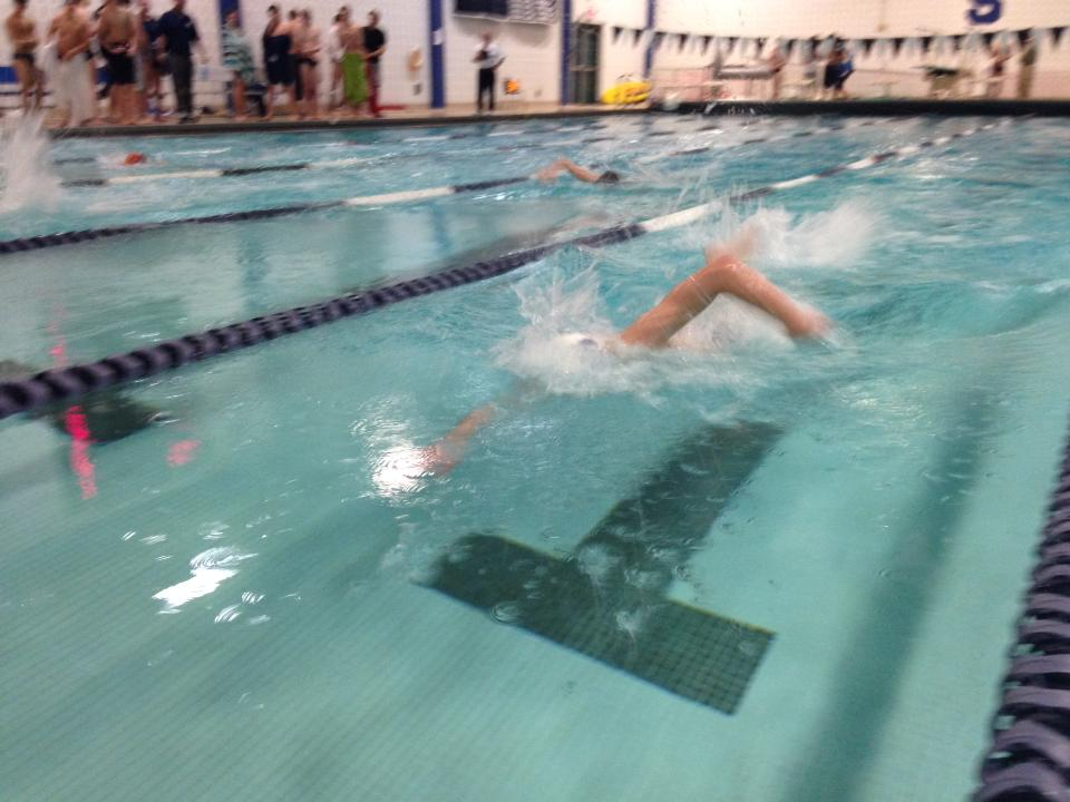 Staples boys swimming kicks past Danbury