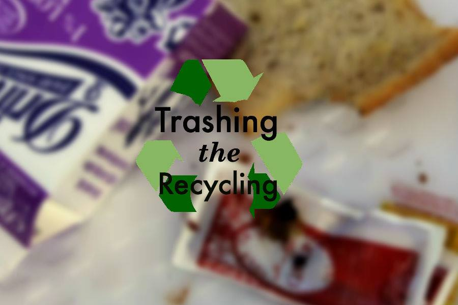 Students tested by recycling