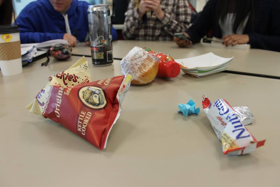 Students talk trash