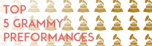 Top Grammy performances number 1
