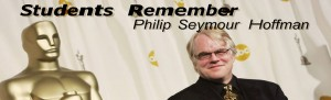 Students react to the death of Philip Seymour Hoffman