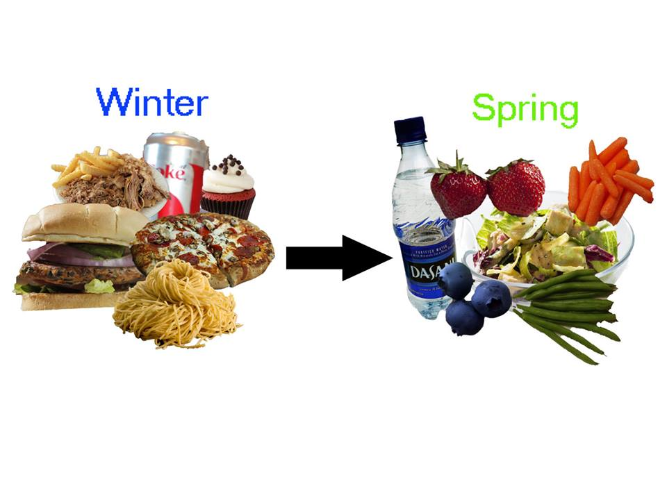 Spring springs new diets