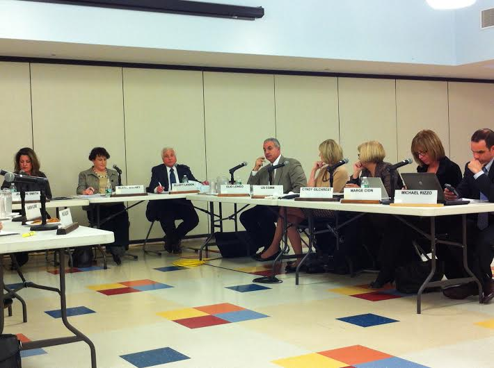 BOE+members+unanimously+approved+recommendations+about+teacher+evaluations+and+a+request+for+proposal+for+interior+door+locks.+