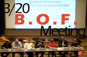 Board of Finance approves proposed BOE budget