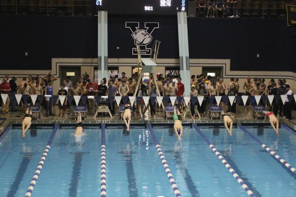 Staples boys swim team takes eighth at Opens