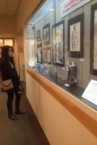 Student art exhibit opens at Westport Library