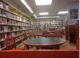 The library is strangely silent