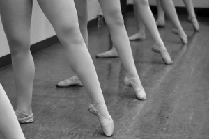 Dancers balance their time between leaps and lessons
