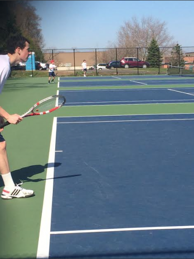 Boys' tennis scores a big win