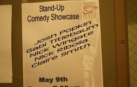 Hilarious Staples students do stand-up comedy at Toquet Hall