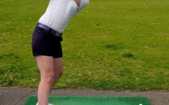 Girls' golf tees off towards potential FCIAC title