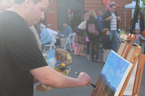 Art About Town fills downtown with creativity