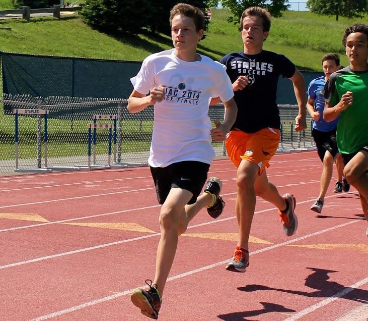 Freshman runner rises to the challenge
