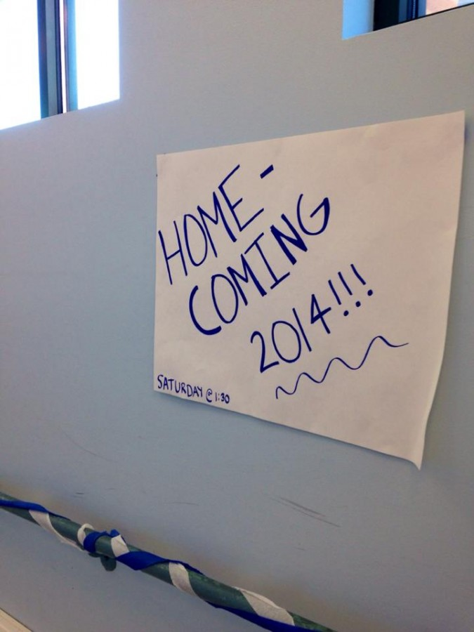 Students show off their spirit for homecoming