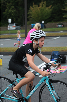 Westport kids race in the YMCA Strong Kids Triathlon