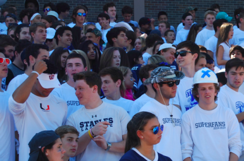 Blue energy and white spirit dominated homecoming game