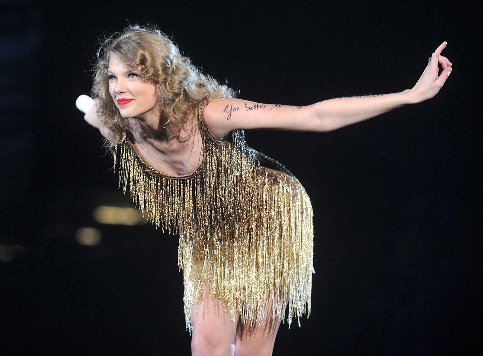 Taylor Swift is a major influence in the music industry. Her fanbase mostly consists of young girls who look up to her as a role model.