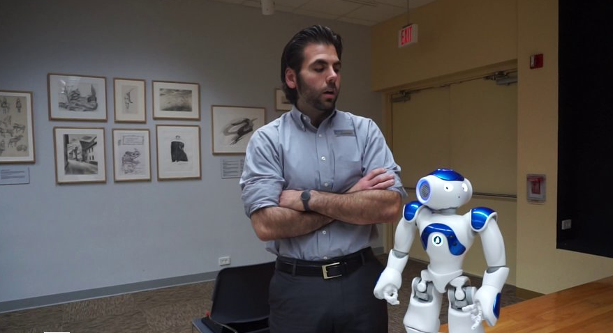 Meet Vincent and Nancy, Westport Library's new robots