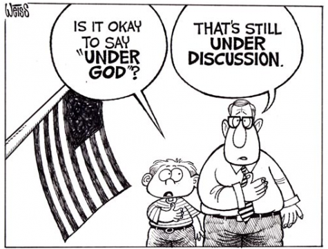 How an Atheist feels about the Pledge of Allegiance