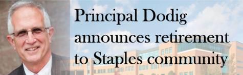 Principal Dodig announces retirement to Staples community