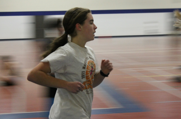 Susie Martin gets off to a running start