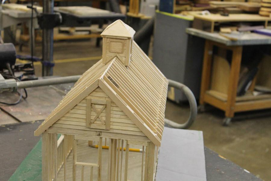 Woodshop+students+build+art+and+practical+skills