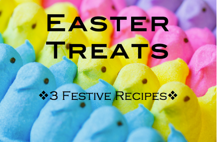 Bounce into spring with Easter treats