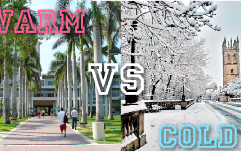 Students change climates for college
