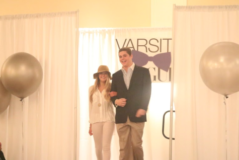 Sarah Ellman and Jack Marsillo '15 sport a summer themed outfit perfect for a weekend in the Hamptons.