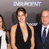 Producer Lucy Fisher, star Shailene Woodley and producer Douglas Wick at the New York premiere of The Divergent Series' 'Insurgent' at Ziegfeld Theater in New York City on March 16, 2015.