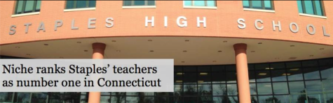 Niche ranks Staples' teachers as number one in Connecticut