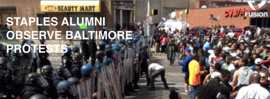 Baltimore protests provoke conflict for Staples alum
