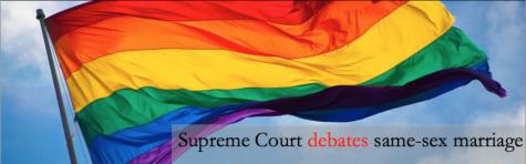 Supreme Court debates same-sex marriage