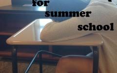 Summer school students scorn sleep schedule