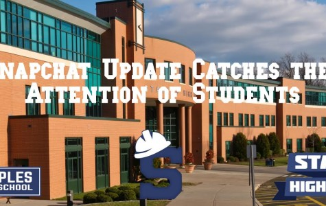 Snapchat update catches the attention of students