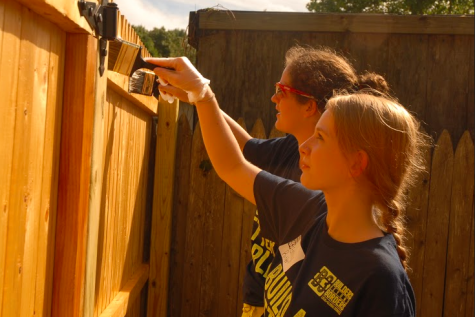 B3 members volunteer at Earthplace