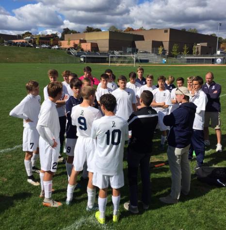 Boys' soccer shows tenacity versus Wilton