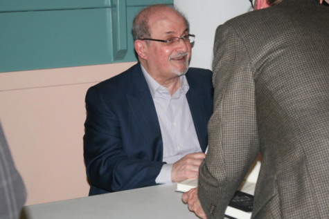 Rushdie is the author of 11 other books and has received several prestigious honors including the Booker Prize. Additionally, Rushdie is an Honorary Professor in the Humanities at M.I.T and Emory University.