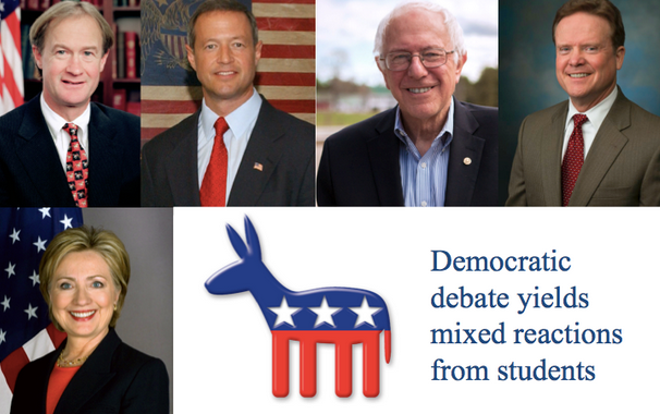 Democratic+Debate+yields+mixed+reactions+from+students