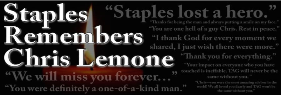 Staples says goodbye to a beloved hero