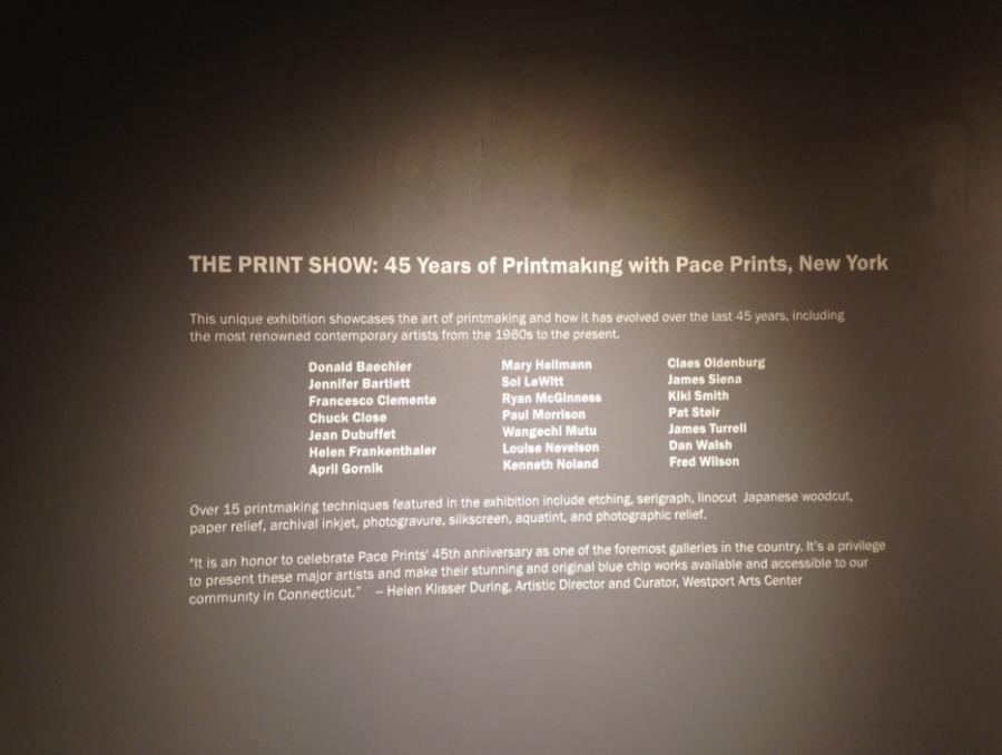 Westport Art Center hosts the print show
