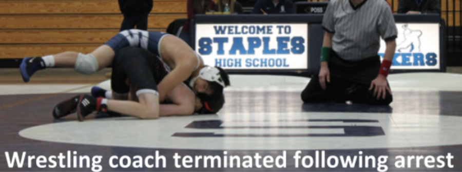 Wrestling head coach terminated following arrest