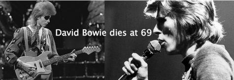 Superstar David Bowie dies at 69