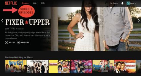 Shuffling through Netflix, episode by episode