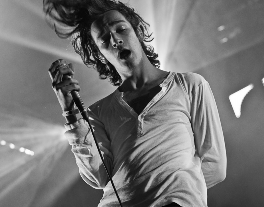 Pictured above is lead singer, Matt Healy.